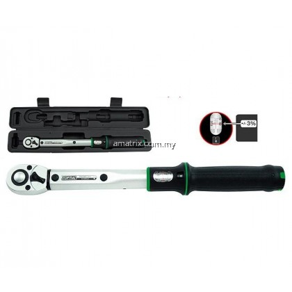 "TOPTUL ANAM1640 1/2""Dr 80-400Nm Micrometer Adjustable Torque Wrench(Window Display)"