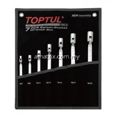 TOPTUL GPAQ0701 7Pcs Double Swivel Head Wrench Set