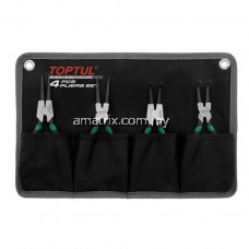 TOPTUL GPAQ0401 4PCS Retaining Ring Pliers Set