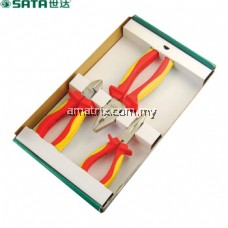 Sata 09261 3pcs VDE Insulated Plier Set