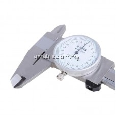 SATA 91521 Stainless Steel Dial Caliper - Silver (0~150mm)