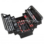 YATO YT-38950 CANTILEVER TOOL BOX SET WITH 62PCS TOOLS KIT