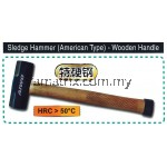 AIWO Sledge Hammer (American Type)- Wooden  Handle