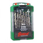 EVACUT E3M 1.0-13.0MM HSS DRILL BITS SET 25PCS