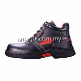 BLACK HAMMER BH2992 Men Series Mid Cut Lace Up Safety Shoes