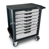TOPTUL TCBG0803 8-Drawer Mobile Tool Trolley - PRO-PLUS SERIES