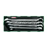 TOPTUL GTA0439 4PCS - 15° Offset Hi-Performance Combination Wrench Set