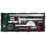 TOPTUL GTB1107 11pcs Measure, Marking & Cutting Set