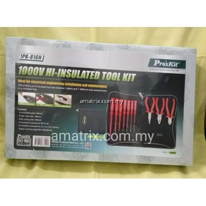 proskit 1pk-816n 1000V Hi-Insulated Tool Kit