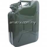 KEN5039260K 10LTR HEAVY DUTY STEEL JERRY CAN (GREEN)