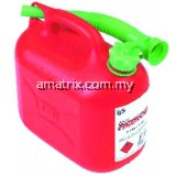 KEN5039010K 5LTR LEADED FUEL CONTAINER - RED