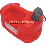 KEN5039100K 5LTR PLASTIC JERRY CAN WITH INTERNAL SPOUT