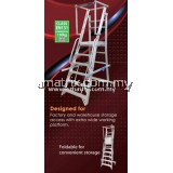 EVERLAS YFWS Heavy Duty Warehouse Step Ladder