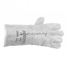 S5181/13-S / S5181/13-D FULL LEATHER GLOVES - GREY, 13""