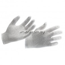 B104/A105 POLY COTTON KNITTED GLOVES