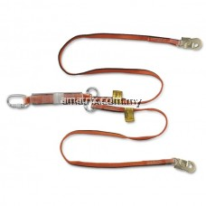 WL-141067-PH WEBBING TWIN LANYARD WITH E/ABSORBER