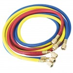"Robinair 30072 1/4"" Standard Hoses with Standard Fittings Set - 72"", Set of 3"