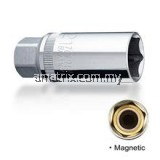 King Toyo KT-MT7203 Magnetic Spark Plug Box Socket 21mm