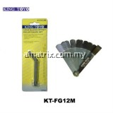 King Toyo KT-FG12M Offset Feeler Gauge 12 Pcs
