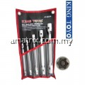 King Toyo KT-605ES 5Pcs Double Torx Socket Wrench
