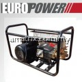 EUROPOWER PPQ-4504 3HP MOTOR C/W HIGH PRESSURE WASHER CLEANER PLUNGER PUMP