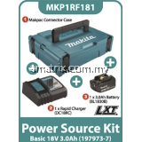 Makita MKP1RF181 Battery Kit 18V 3.0Ah x 1pc, Fast Charger x 1pc