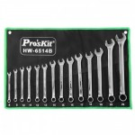 PROSKIT HW-6514B 14Pcs Combination Wrench
