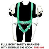 COLEX SHD-499 FULL BODY SAFETY HARNESS WITH DOUBLE BIG HOOK