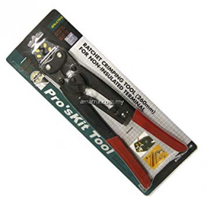 PROSKIT 8PK-CT015 Ratchet Crimping Tool For Non-insulated Terminal
