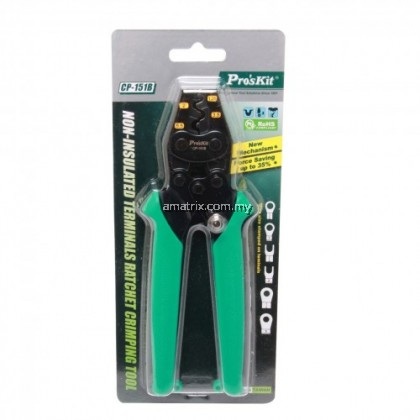 PROSKIT CP-151B Non-Insulated Terminals Ratchet Crimping Tool