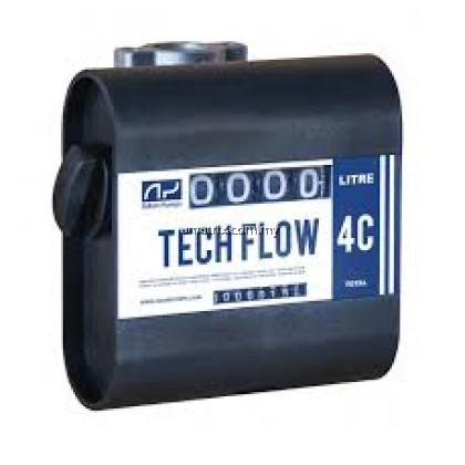 Adam Pumps TF4S1 Mechanical Flowmeter Tech Flow 4C