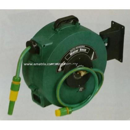 LD-H01001 15M AUTO-RETRACT GARDEN WATER HOSE REEL