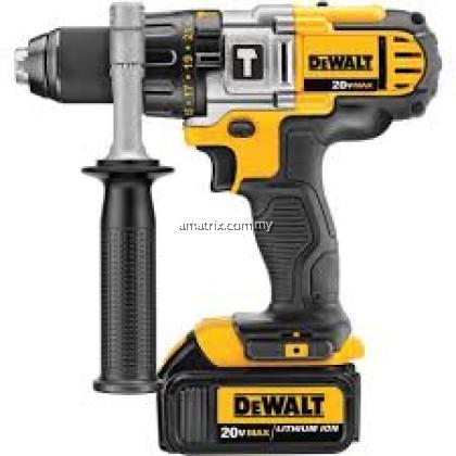 DeWalt DCD985M2 18V XR Premium 3-Speed Cordless Hammer Drill Kit