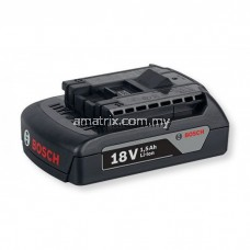 BOSCH 1600A001CC GBA18V1.5AH M-A (SLIDE BLACK PACK) BATTERY PACK