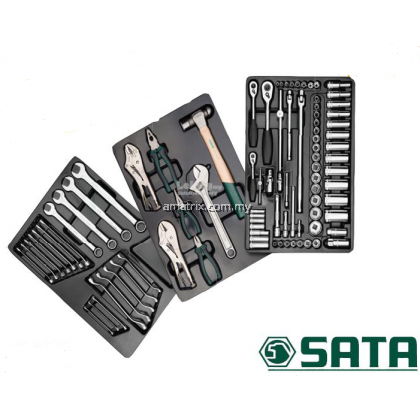 Sata 09926 90pc Tool Tray Set