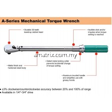 "SATA 96311 1/2"" DR MECHANICAL TORQUE WRENCH SATA 20-100NM"