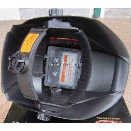 Heli 8027G DIN 9-13 Solar Auto Darkening Welding Helmet