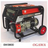 OGAWA GW3800E Professional 2800W Electric Start Gasoline Generator