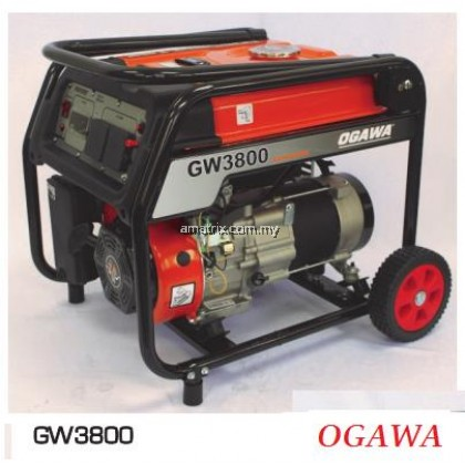 OGAWA GW3800E Professional 2800W Electric Start Gasoline Generator