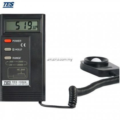TES 1332A Light Meter/Lux Meter