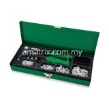 Toptul GAAD0102 121pcs Industrial Hand Nut Riveter Set