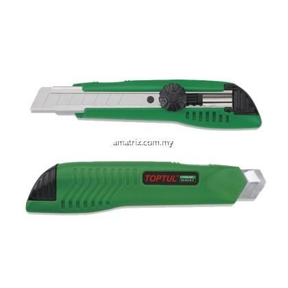 TOPTUL SCAD1817 UTILITY KNIFE (W/SPARE BLADE)