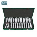 "Toptul GAAD2202 22pcs 1/2"" DR. 6pt Flank Deep Socket Set"