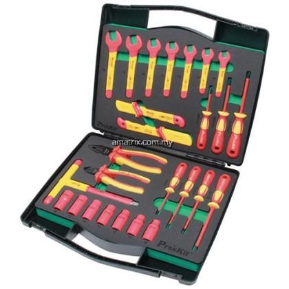 Pro'sKit PK-2809M 26 PCS 1000V Insulated Metric Tool Kit