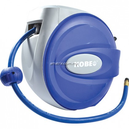kobe KBE2581120K 20Mx10mm RETRACTABLE RUBBER AIR HOSE REEL