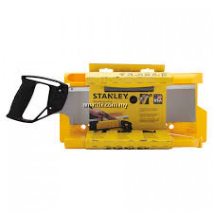 STANLEY 20-600 CLAMPING MITER BOX WITH 14 IN SAW