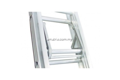 Everlas ED15DR Heavy Duty Double Extension Ladder 28 Steps 7498MM (24.60')