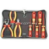 1000V Tested Plier & Screwdriver Set