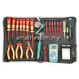 24 PCS 1000V Hi-Insulated Tool Kit 220V