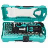 "38PCS 1/4"" Drive Socket& Screwdriver Set(SD-2317M)"